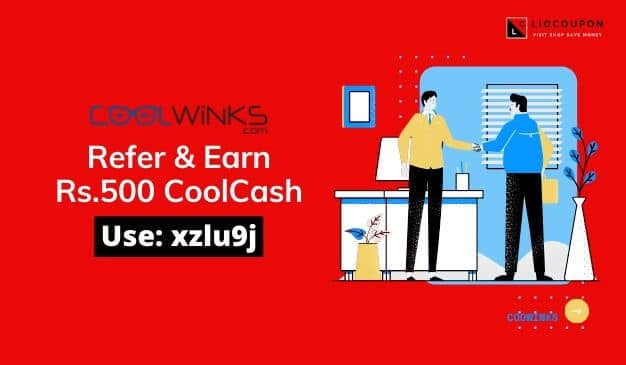 Coolwinks Referral Code banner