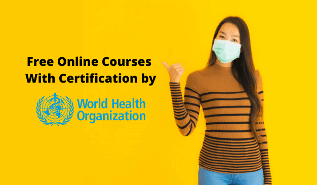 Free Courses With Certification by who