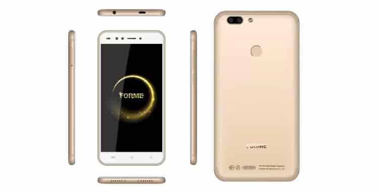Forme R7S (Champagne Gold, 16 GB) (3 GB RAM)
